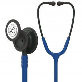 Стетоскоп Littmann Classic III, темно-синяя трубка, черная акустическая головка и оголовье, 5867