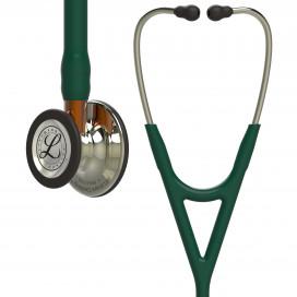 Стетоскоп Littmann Cardiology IV, темно-зеленая трубка, акустическая головка и оголовье цвета шампань, 6206