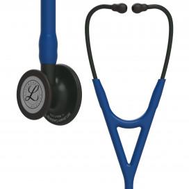 Стетоскоп Littmann Cardiology IV, темно-синяя трубка, черная акустическая головка и оголовье, 69 см, 6168