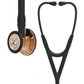 Стетоскоп Littmann Cardiology IV 6180, высокопольный польский медный нагрудник, черная трубка