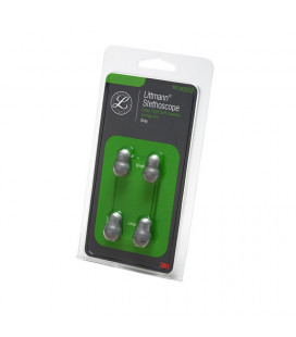 Littmann Spare Parts Kit, Eartips, Grey, Large and Small, 40002
